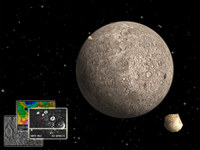 Mercury 3D Space Survey Screensaver for Mac OS X