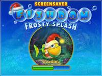 Free Fishdom: Frosty Splash Screensaver