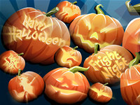 Free Halloween Time Screensaver