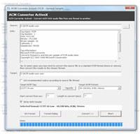 ACM Converter ActiveX