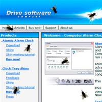 Fly on Desktop Screensaver screenshot medium