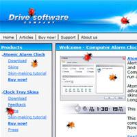 Ladybug on Desktop Screensaver