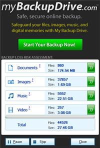 Online Backup Scanner Tool