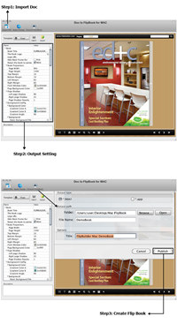 Doc to FlipBook for Mac