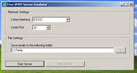 SMTP Server Emulator
