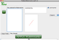 Tbw - PDF watermark mac