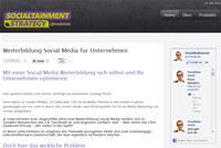 Weiterbildung Social Media