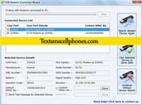 GSM Modem Send SMS