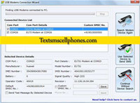 GSM Modem Send SMS screenshot medium