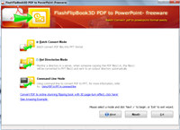 FlippingBook3D PDF to PowerPoint Converter (Freeware)