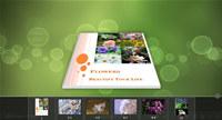 3D PageFlip Free Simple Color Templates screenshot medium