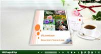 3D PageFlip Free Simple Life Templates screenshot medium