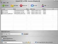 Aostsoft PDF to HTML Converter