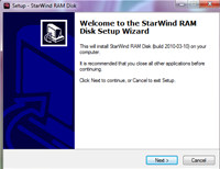 StarWind RAM Disk screenshot medium