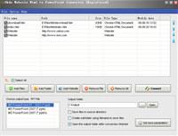 Okdo Website Html to PowerPoint Converter