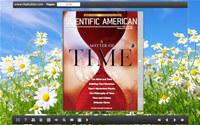Flash Magazine Themes for White Flower Style