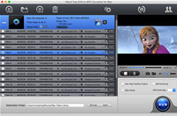 MacX Free DVD to MP4 Converter for Mac screenshot medium