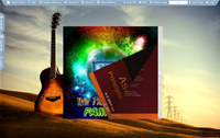 Flash Flip Book Theme of Guitar