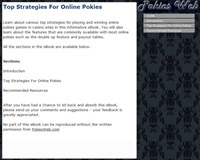 Top Strategies For Online Pokies screenshot medium