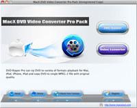 MacX DVD Video Converter Pro Pack screenshot medium