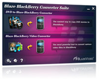 BlazeVideo BlackBerry Converter Suite