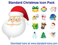 Standard Christmas Icon Pack