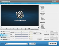 BlazeVideo Video Editor screenshot medium