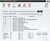 +A Multiple Page Rank Checker screenshot medium