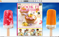 Flash Flip Book Theme of Ice Cream
