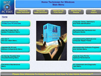 Home Technician Computer Repair Software