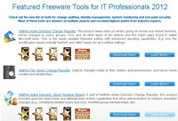 Top 10 Free Tools for IT Professionals