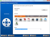 SuperEZ Video Converter Free screenshot medium