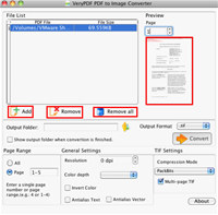 VeryPDF PDF to Image Converter for Mac