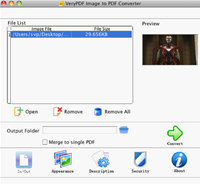 VeryPDF Image to PDF Converter for Mac