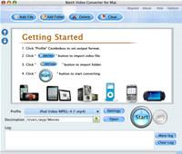 Batch Video Converter for Mac