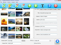 JPG to PDF Pro for photo album and ebook