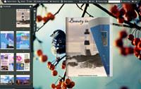 Page Flip Book Theme of illegibility