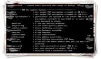 PDF Password Remover Command Line