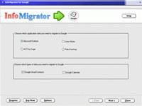 InfoMigrator for Google screenshot medium