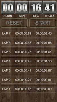 Stop Watch for Android screenshot medium