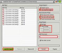 VeryPDF PDF to PowerPoint Converter screenshot medium