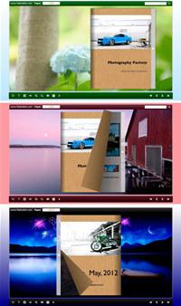 Float Gallery Flip Theme Package