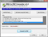 Convert Outlook to PDF