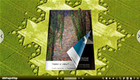 Concise Templates for 3D Page Flip Book