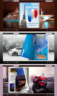 Float On the Way Flip Theme Package