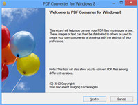 PDF Converter for Windows 8 screenshot medium