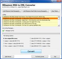 MDaemon to Kerio screenshot medium