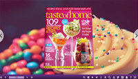 3D Page Flip Book Dessert Templates