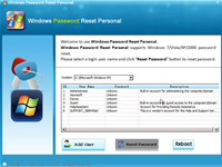 Windows Password Recovery Personal