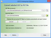 OST2 PST Converter
